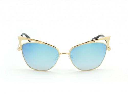 Солнцезащитные очки Dita Von Teese FemmeTotale DVT 102 blue/gold