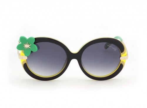 Солнцезащитные очки Louis Vuitton Flower Z0279E C3 Yellow-Green