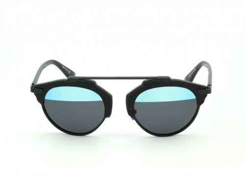 Солнцезащитные очки Christian Dior So Real BIAYI Blue-Gray Mirror/Bk