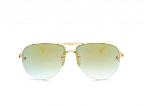 Солнцезащитные очки LOTD Titanium LT 10 gold/yellow