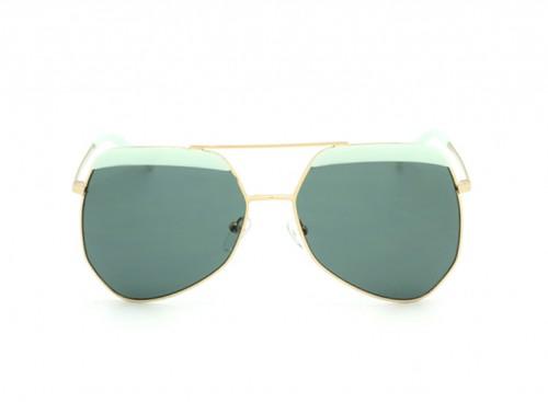 Солнцезащитные очки Grey Ant Hexel turquoise/gold