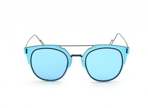 Солнцезащитные очки Christian Dior Composit 1F 070 2T Blue Mirror