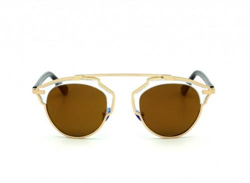 Солнцезащитные очки Christian Dior So Real B1MY9 Сryslal Gold