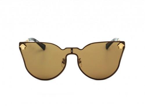 Солнцезащитные очки Versace VE 2120/S gold-brown