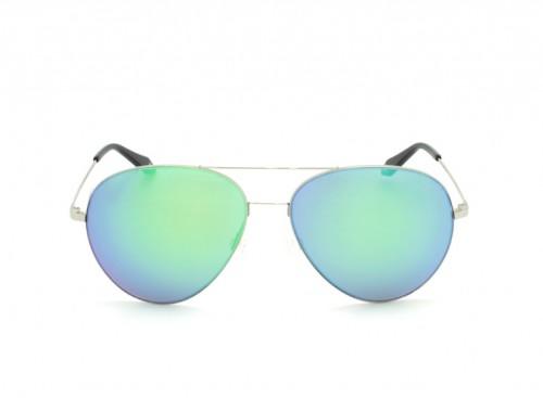 Солнцезащитные очки Victoria Beckham Aviator 0089 green-blue morror glass