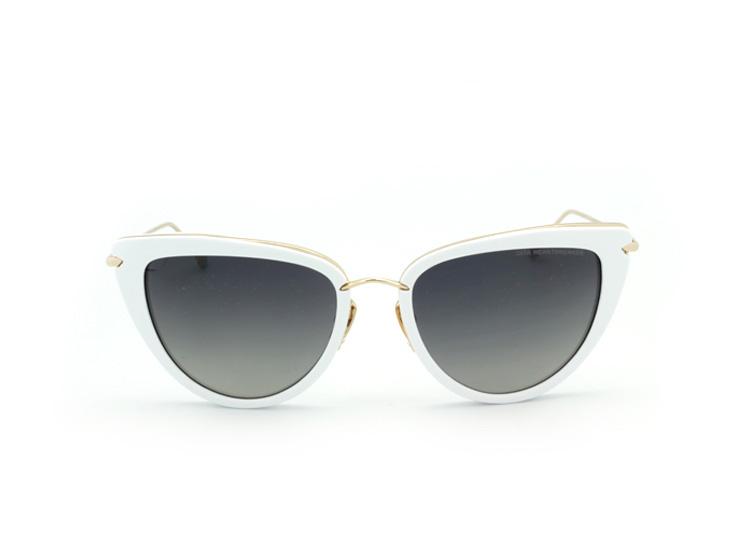 Солнцезащитные очки Dita Von Teese Heartbreaker DRX 22027-C-BRN-GLD-56 white