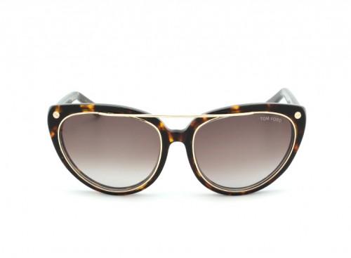 Солнцезащитные очки Tom Ford TF 0384 01A Brown/Horny