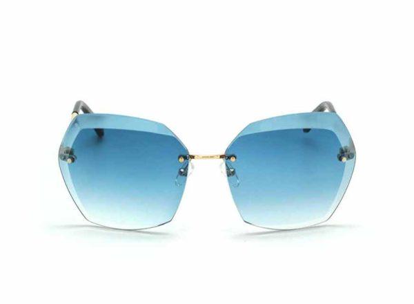 Солнцезащитные очки CHANEL 71180 C110/3D BLUE SILVER